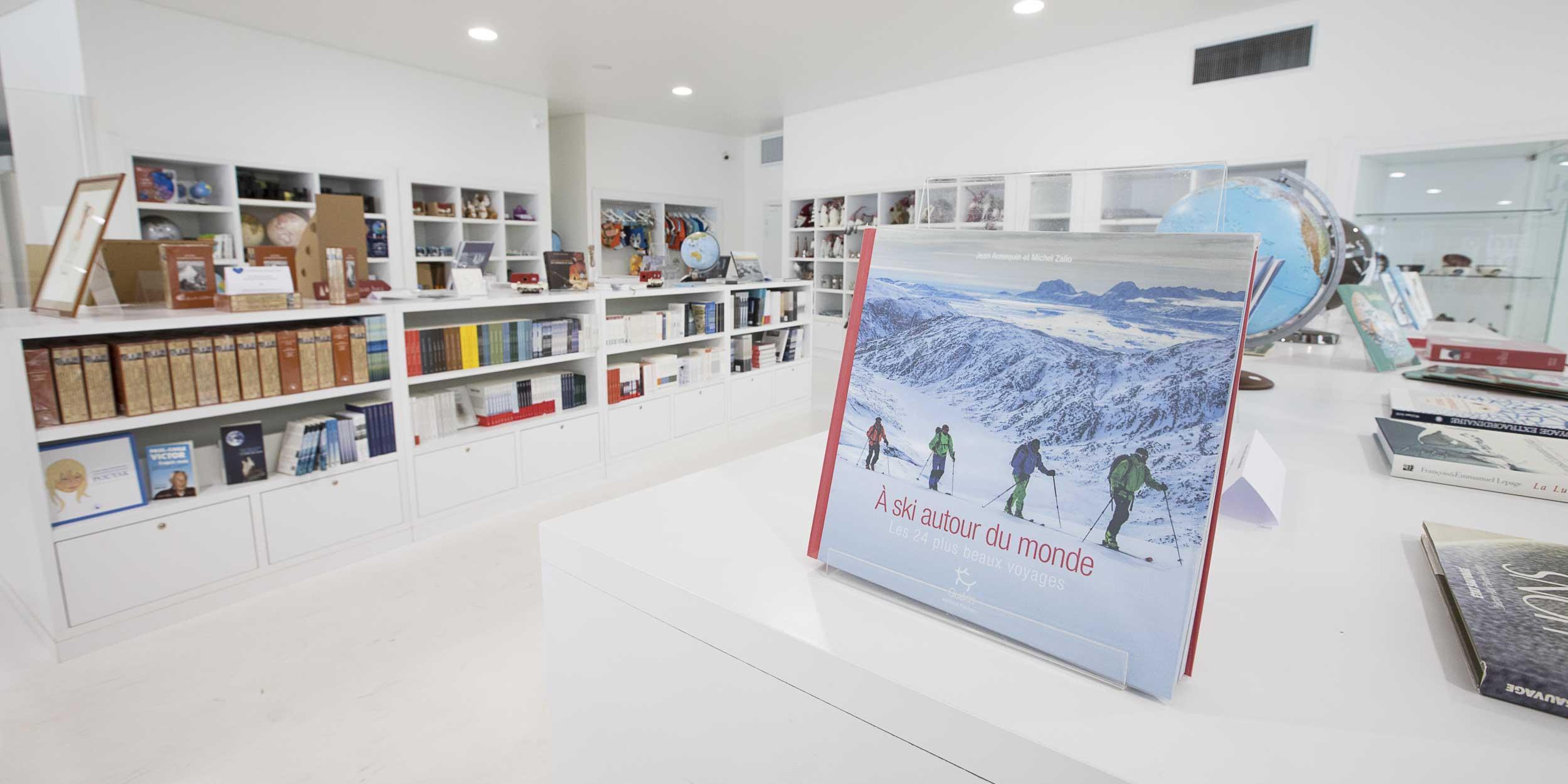 boutique espace des mondes polaires