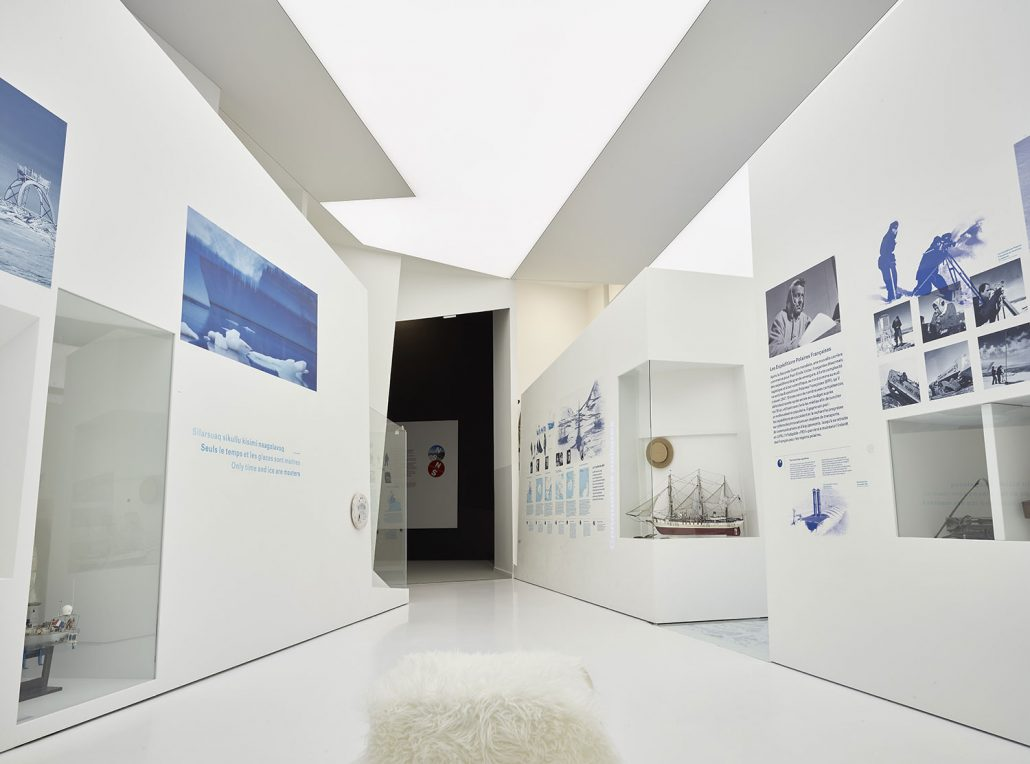 Musée © Espace des Mondes Polaires / Laurent Vera