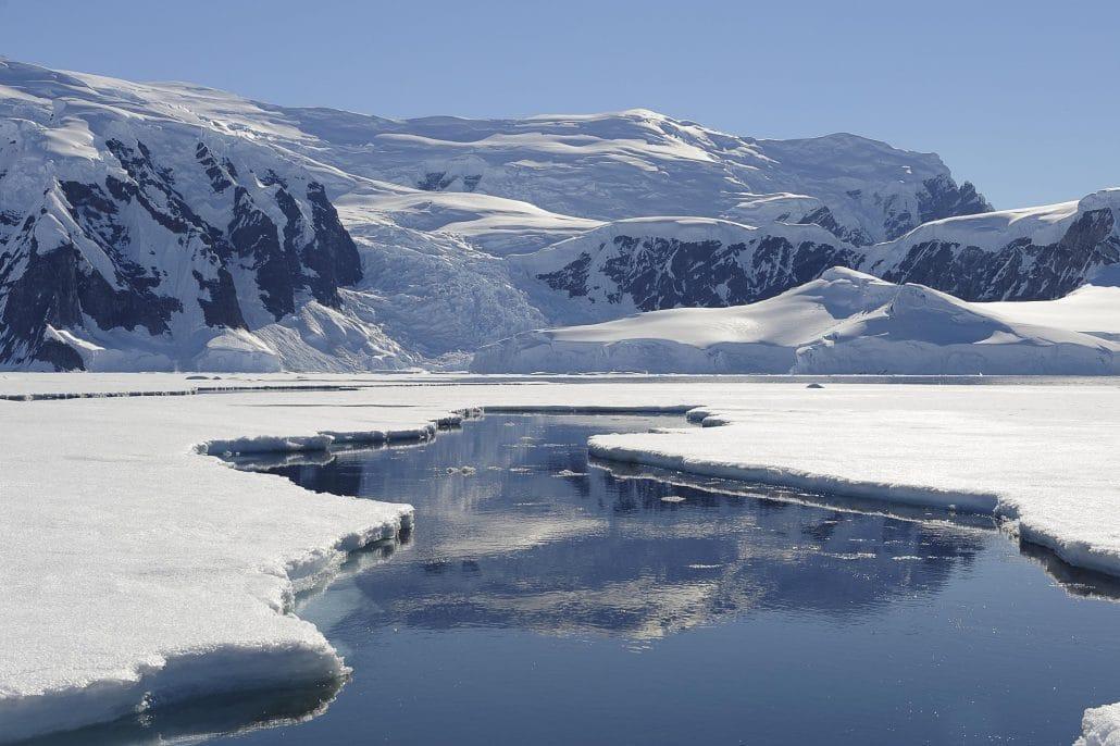 Banquise Antarctique © Nath Michel / Communauté de communes Station des Rousses