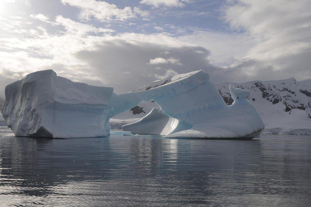 Icerberg Arctique © Nath Michel / Communauté de communes Station des Rousses