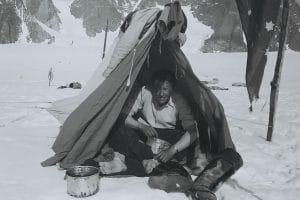 Photo Paul-Émile Victor © Rue des Archives Mont Forel (côte est du Groenland), juin 1937