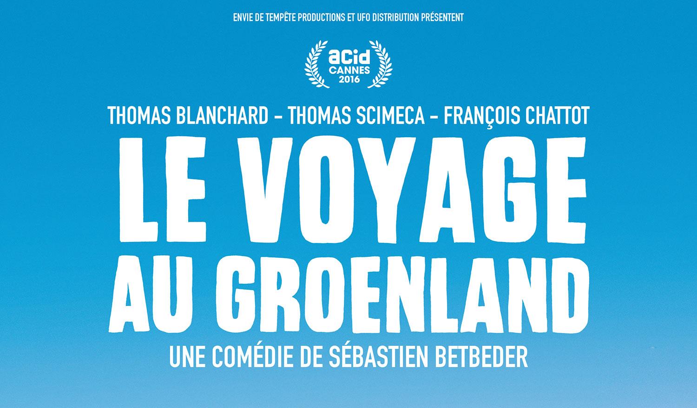 Le voyage au Groenland film