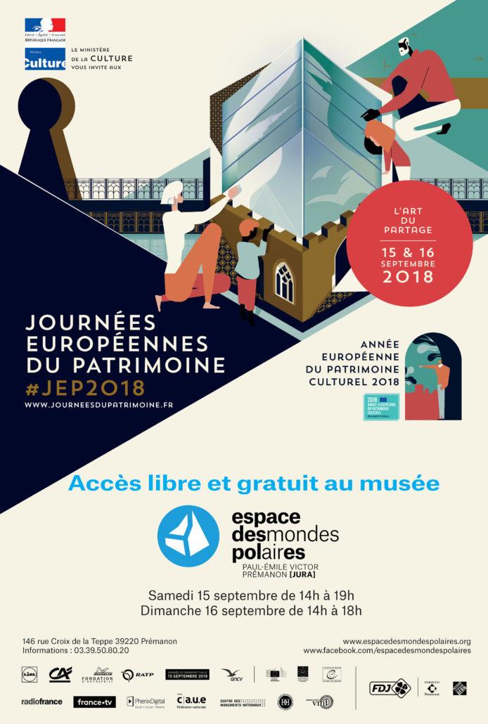 Journées Européennes du Patrimoine 2018 JEP