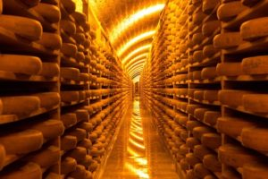 fort des rousses cheese cellars