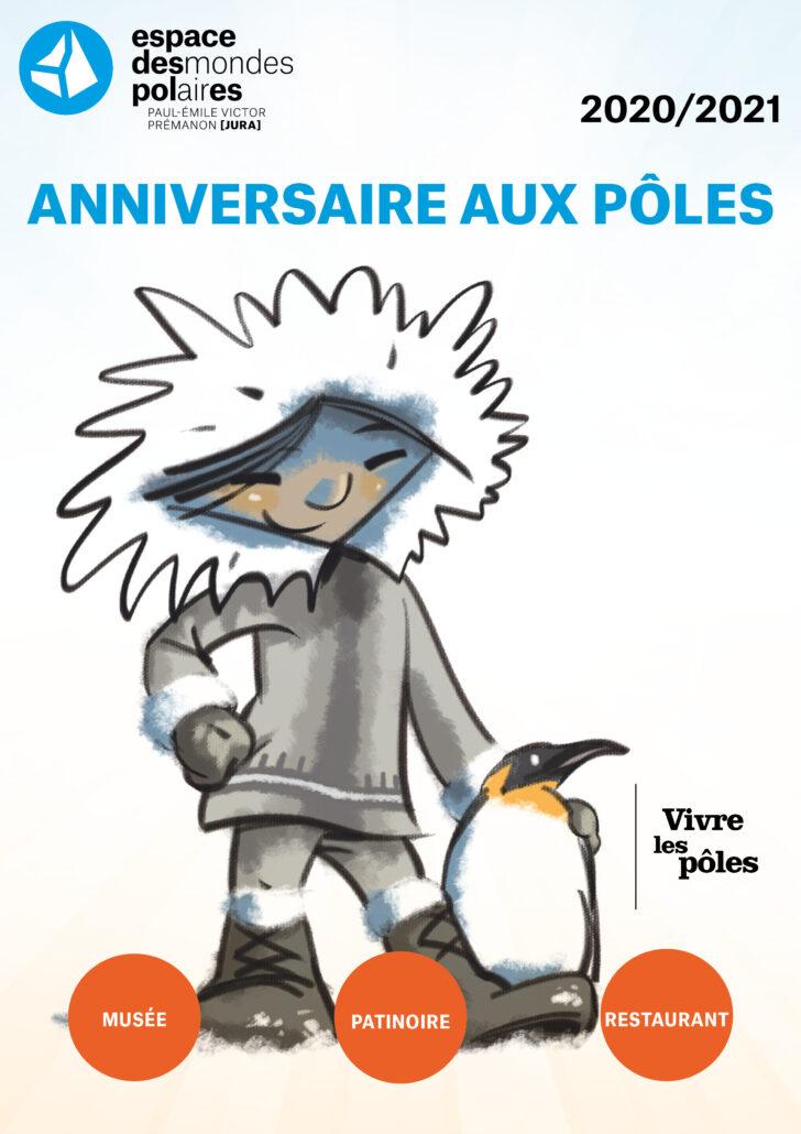 Un anniversaire polaire avec tes amis